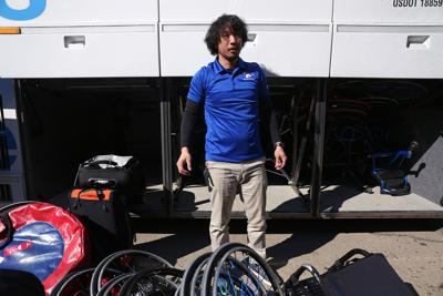 Student trainer aims for Tokyo 2020 Paralympics