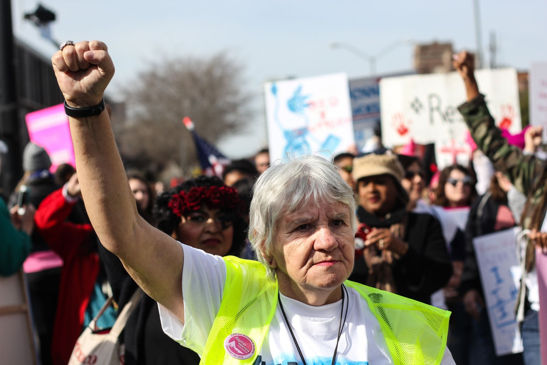 Third annual Dallas Women's March fights for gender, racial equality