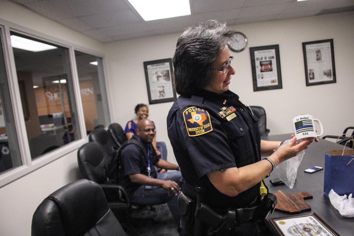 Leadership award presented to UTA Police lieutenant