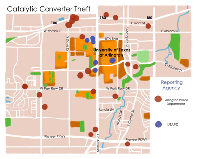 Catalytic converter thefts on the rise around campus