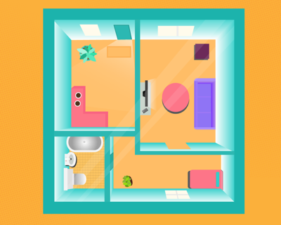 Sharing space in your new place