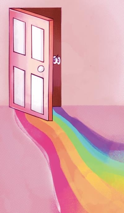Students' different coming out stories serve as examples to those who wish to embrace National Coming Out Day