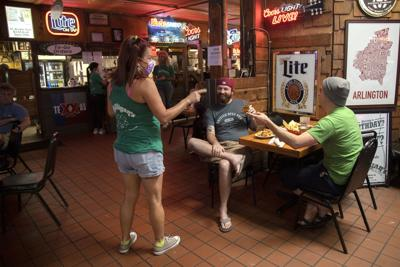 Gov. Greg Abbott announces bars must close at noon, businesses back to 50% capacity
