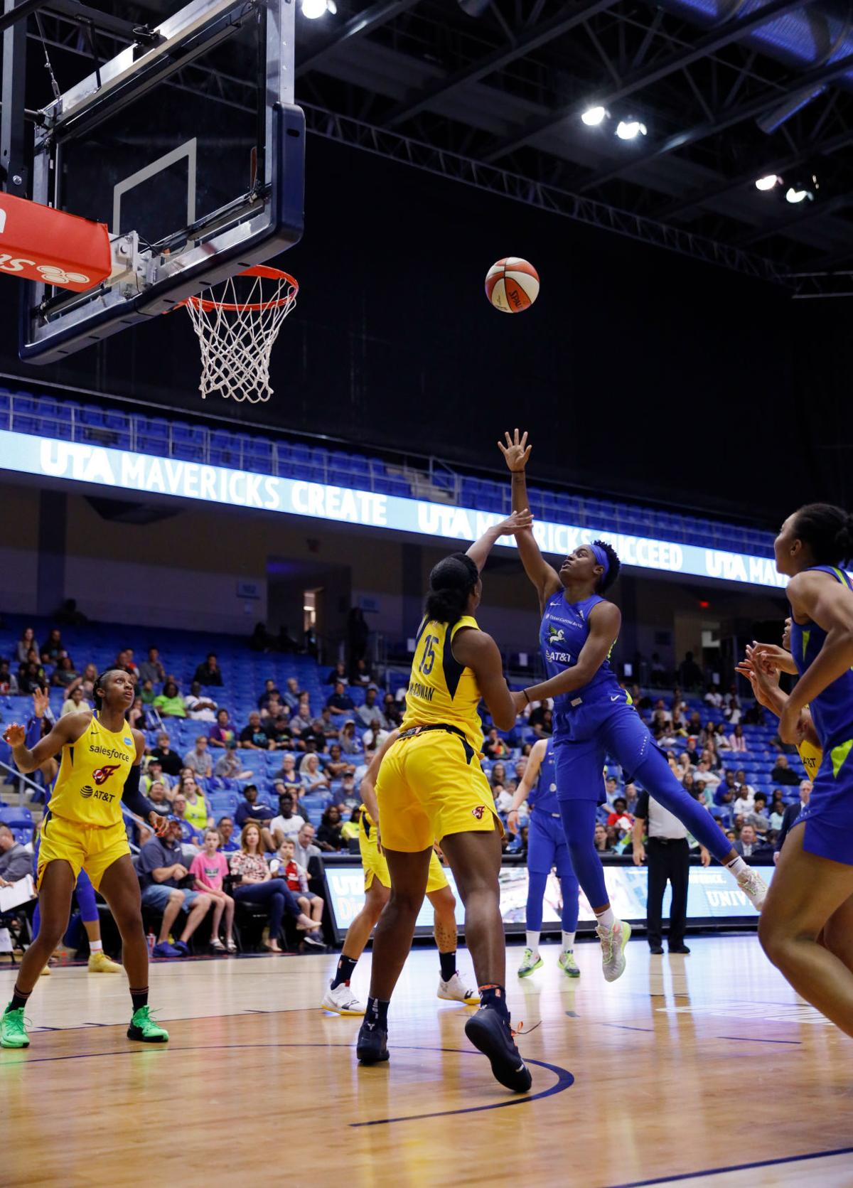 Photos: Dallas Wings fall to Indiana Fever
