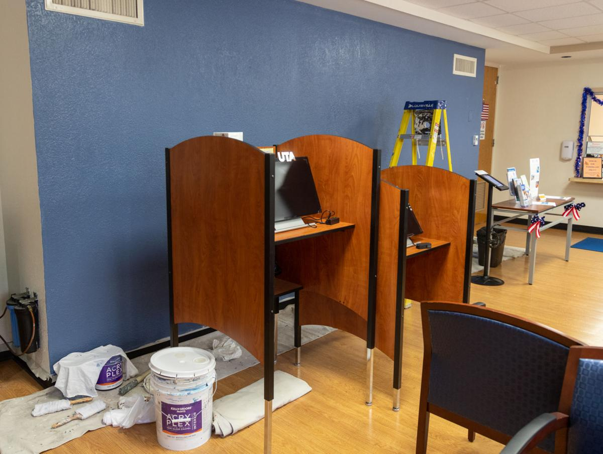 Health center renovations to relocate psychiatric, insurance and immunization services