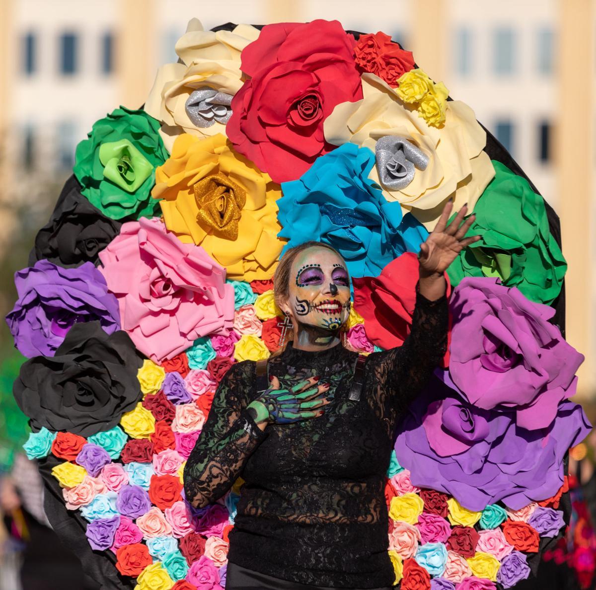 Photos: Dallas' inaugural Día de los Muertos Parade and Festival features catrinas, live music
