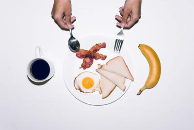 Eat a good breakfast to start the day off right