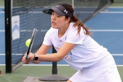 UTA women's, men's tennis teams dominate the court against Louisiana-Lafayette, Lamar