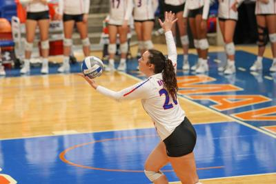 UTA volleyball transfer Kainah Williams' positivity on and off the volleyball court impacts her team