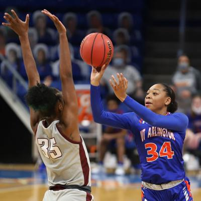 Junior forward Shyia Smith is making the most of the role she's been given this season