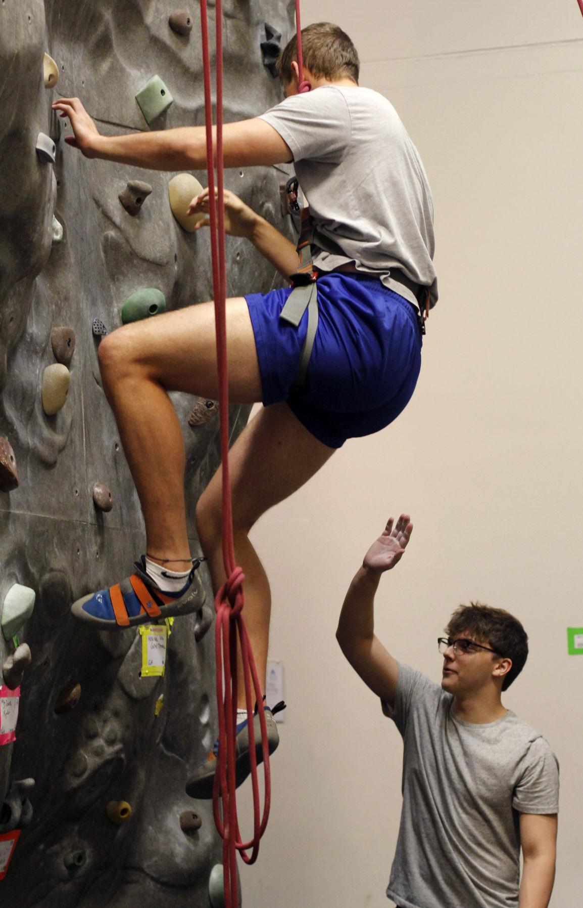 Rock climbing: the alternative exercise experience