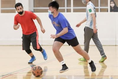 Intramural team sports return after hiatus due to COVID-19