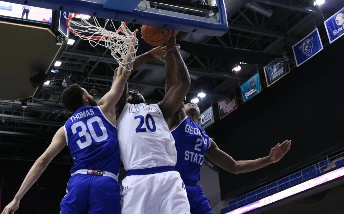 Basketball teams fall in Sun Belt Conference opener