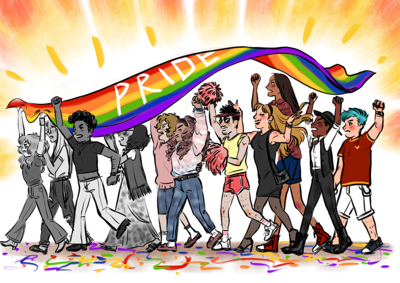 Celebrating Pride Month, embracing the LGBTQ+ movement's history