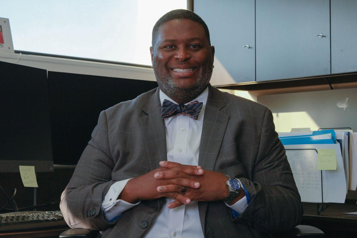 UTA's VP for Diversity, Equity and Inclusion outlines his goals for the office