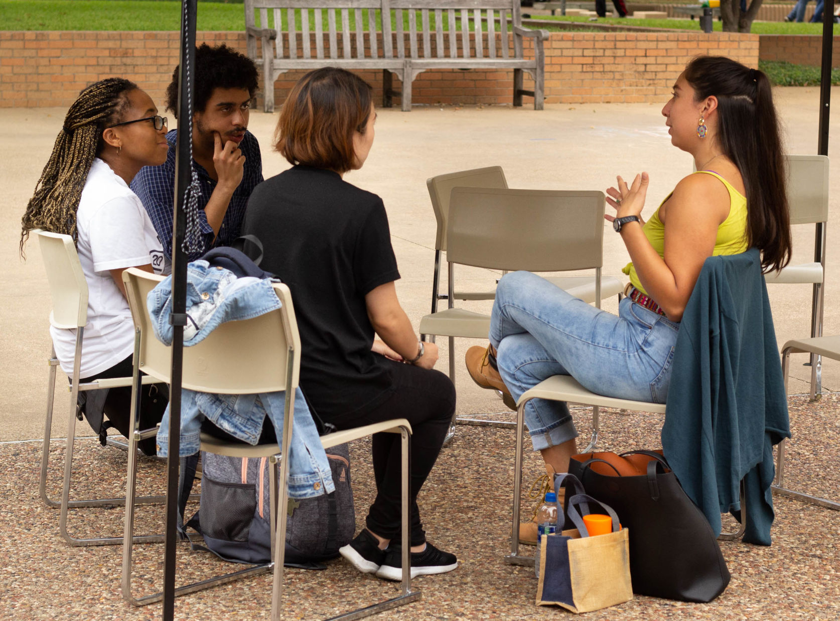 'Nourishment for your heart': UTA Central Library hosts second Human Library event