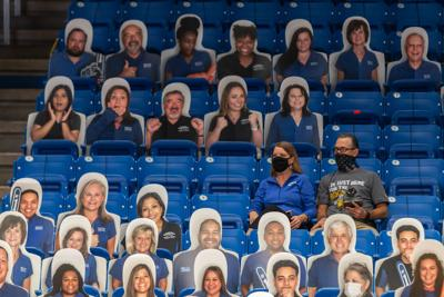 Limited capacity fan attendance at College Park Center succeeds during pandemic era