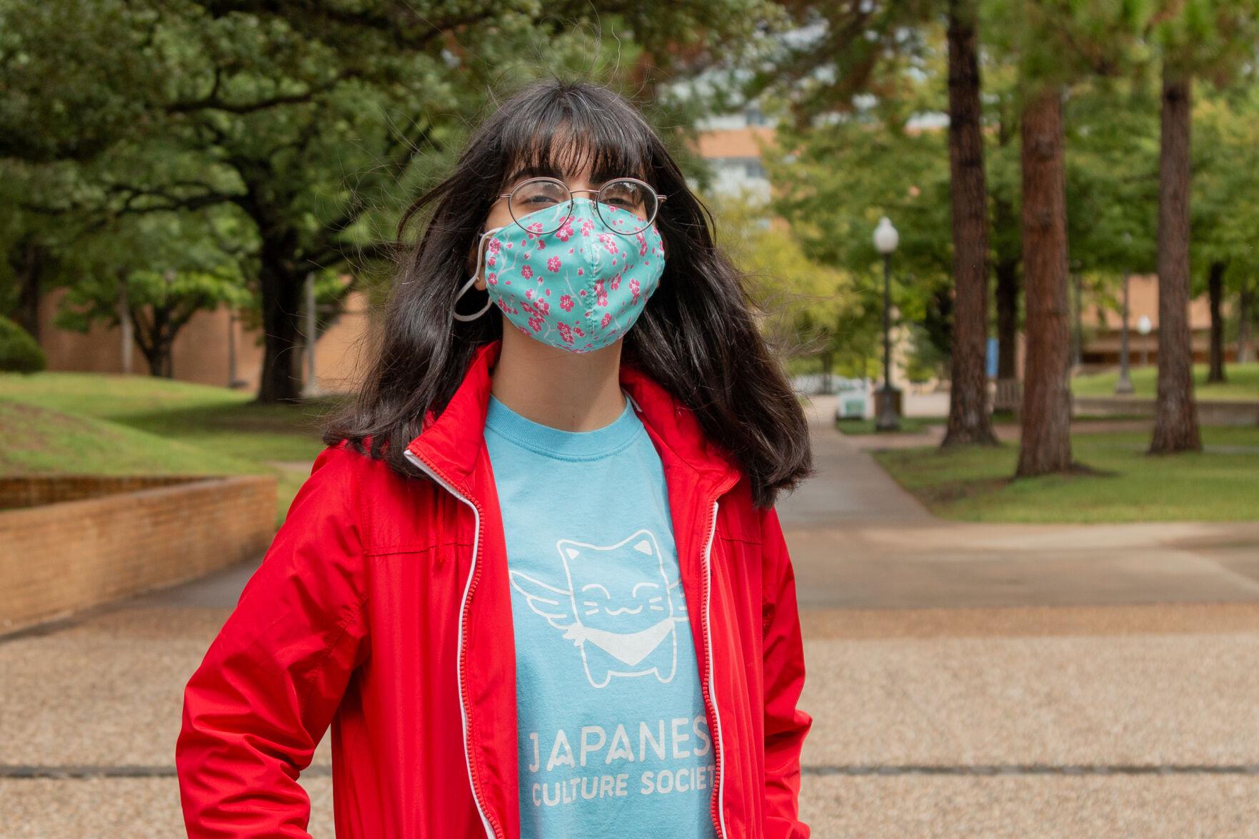 Faces of UTA: Making masks meaningful