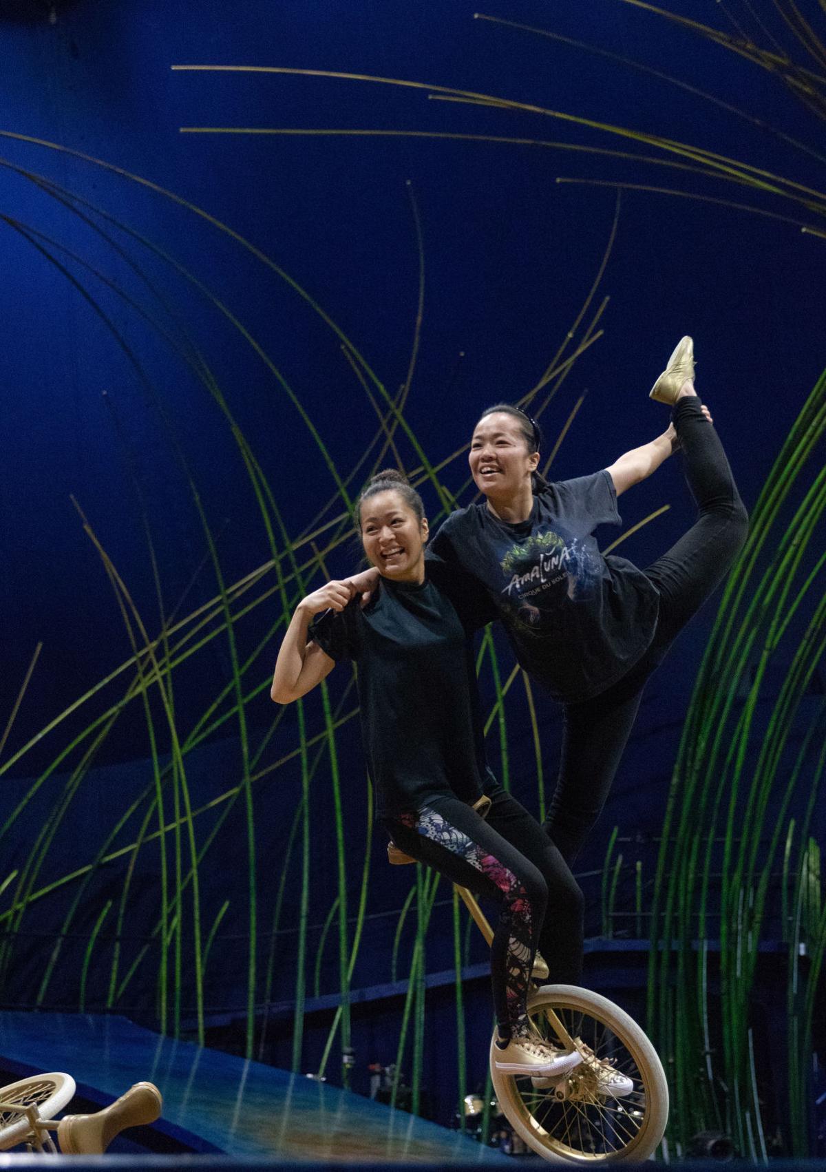 Photos: How Cirque Du Soleil prepares for a show