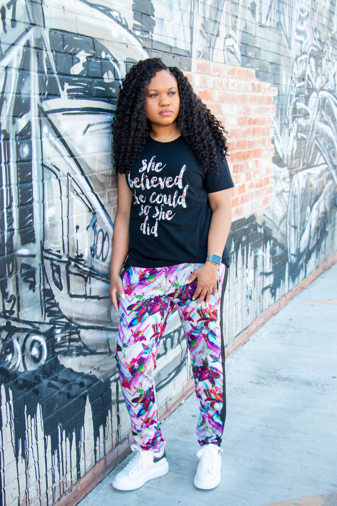 UTA alumna combines athletic style, streetwear comfort in fashion brand Jamber