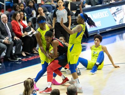Dallas Wings fall to the Las Vegas Aces 95-79 before the All-Star break