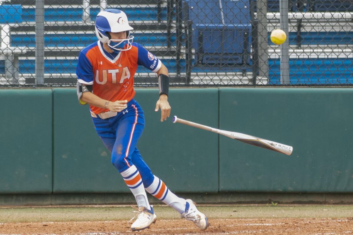 Photos: UTA softball gets swept by Troy University, extends losing streak