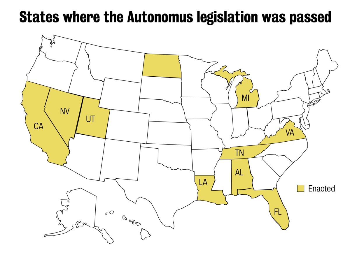 Autonomous vehicles come to Arlington