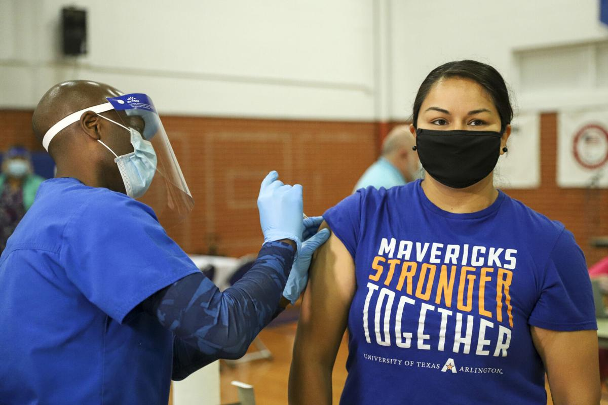 UTA opens community COVID-19 vaccination site on campus