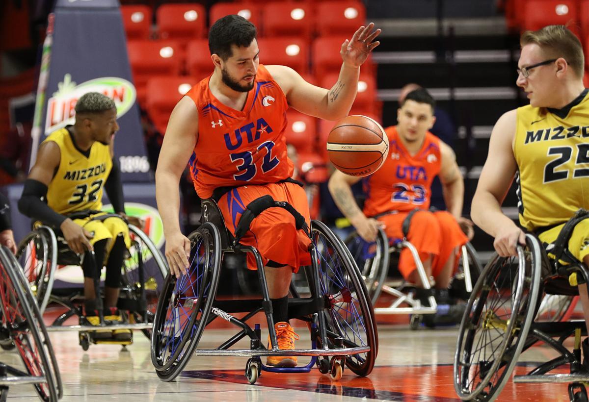 Movin' Mavs alumnus Fabian Romo prepares to play wheelchair basketball professionally in Spain