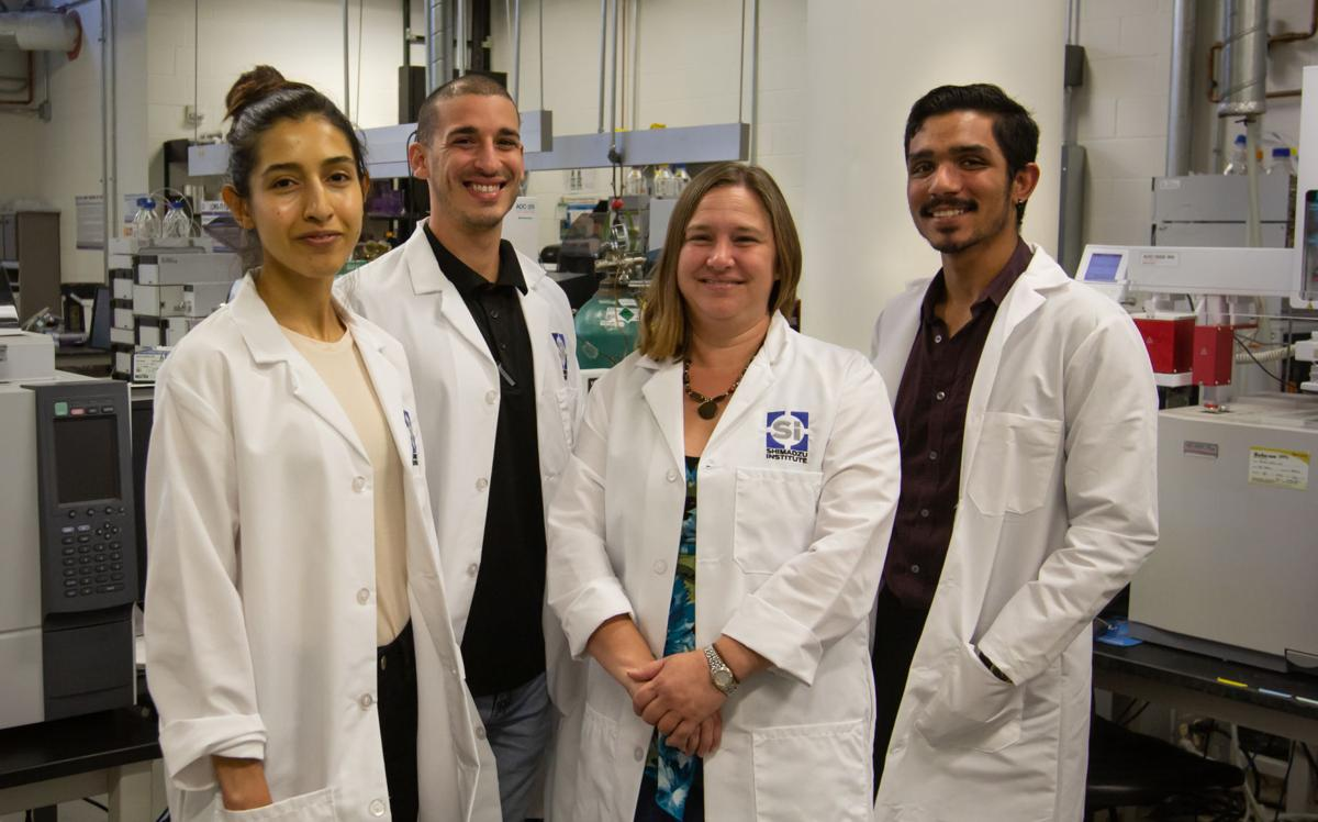 UTA students and researchers collaborate with Asahi Kasei company researching fracking wastewater filtering methods