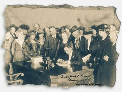 The woman's vote: Reflecting on a century with the 19th Amendment