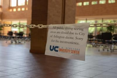 UTA implements social distancing measures, safety protocols for on-campus dining