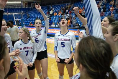 UTA volleyball picks up first series sweep of the season against Little Rock