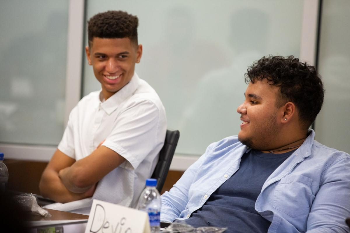 Men of Distinction mentor program aims to help men of color excel in college