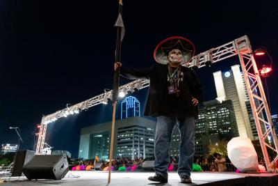 Thousands celebrate the dead in Dallas' first Día de los Muertos parade and festival