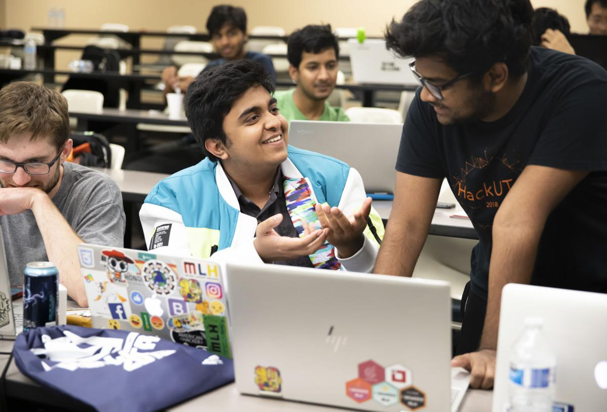 Annual HackUTA competition inspires innovation, brings tech company scouting opportunities