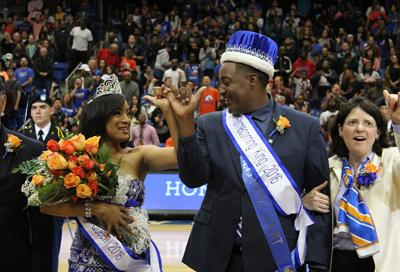 Students crown Homecoming king, queen