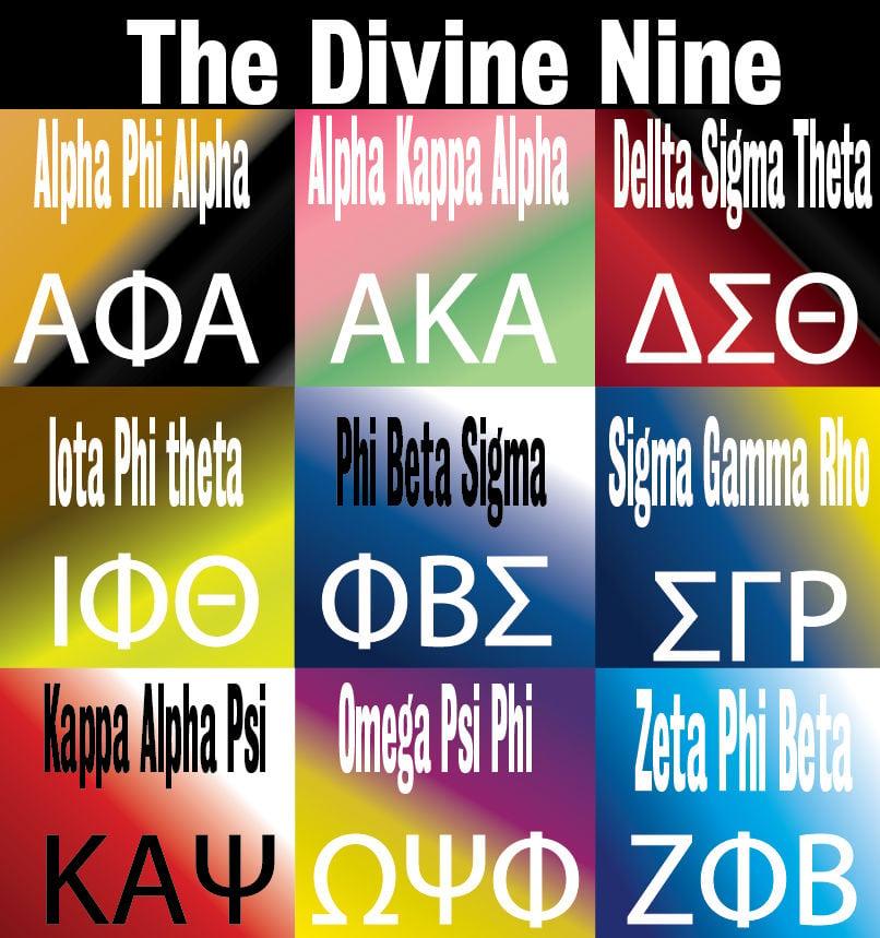 Divine Nine Back On Campus News Theshorthorn Com