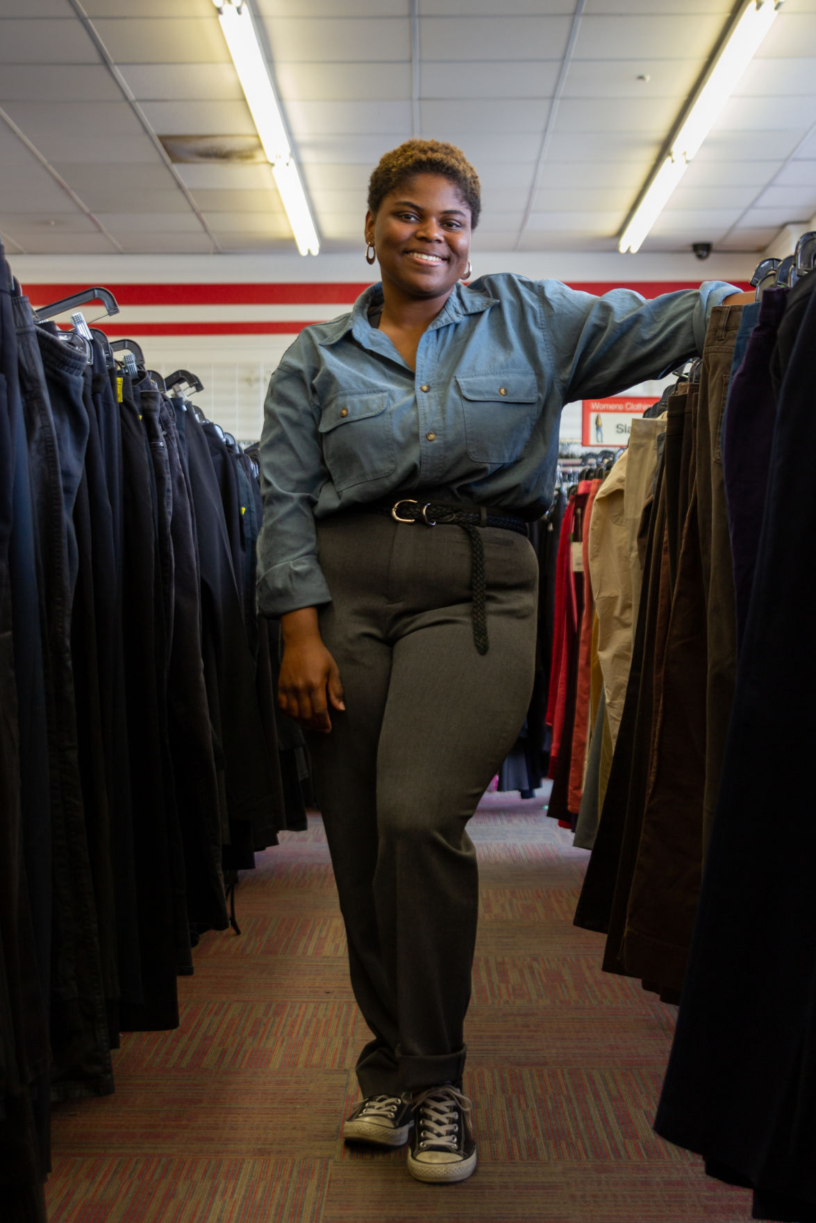 Alumna establishes a stand-out style through thrifting