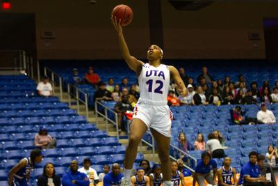 Photos: Lady Mavericks tame Georgia State Panthers using excellent defensive play (copy)