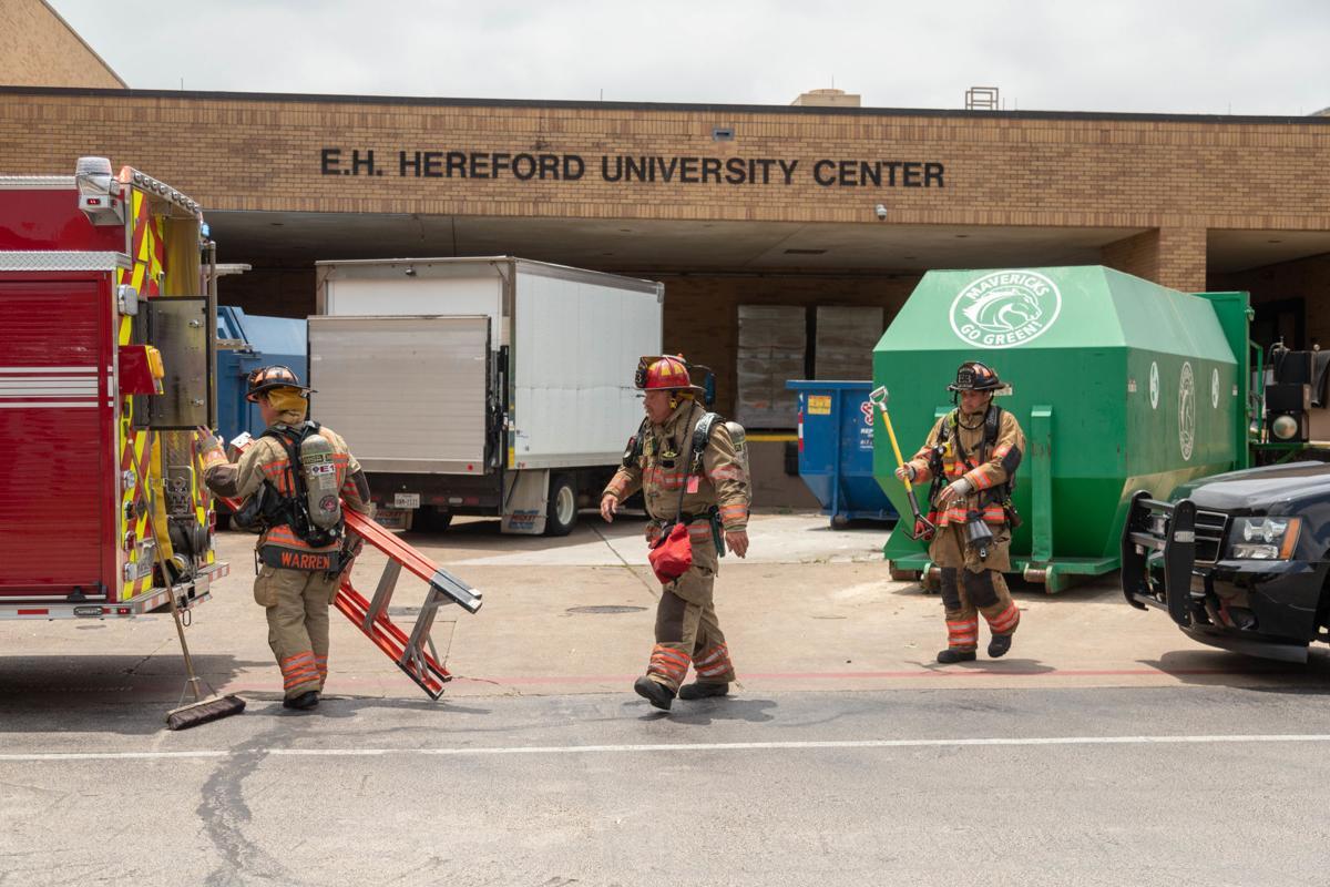 University Center evacuated because of smoke