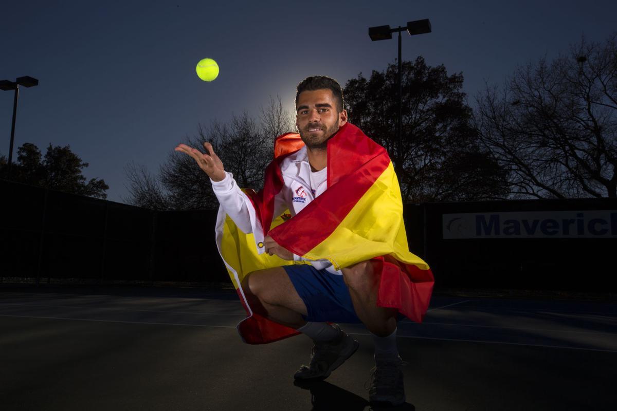 UTA Tennis players recall adjustment to English language, American life