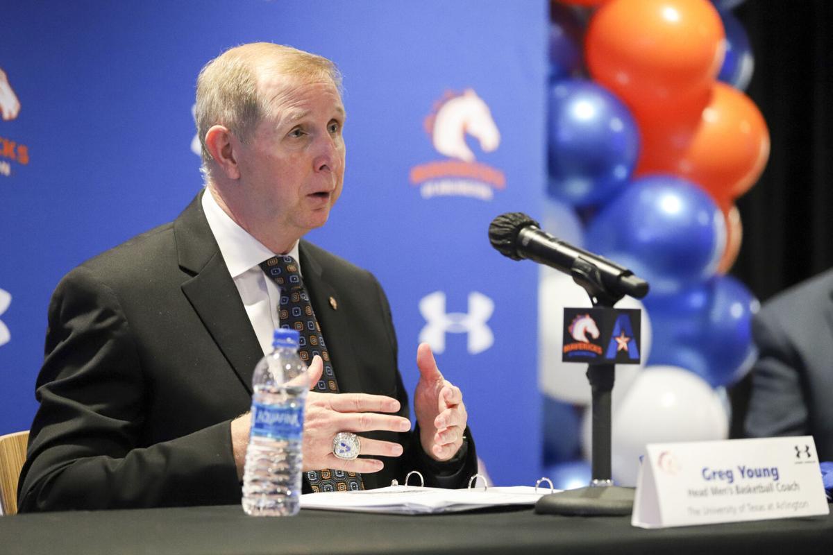 Meet Greg Young, the new coach of UTA's men's basketball team