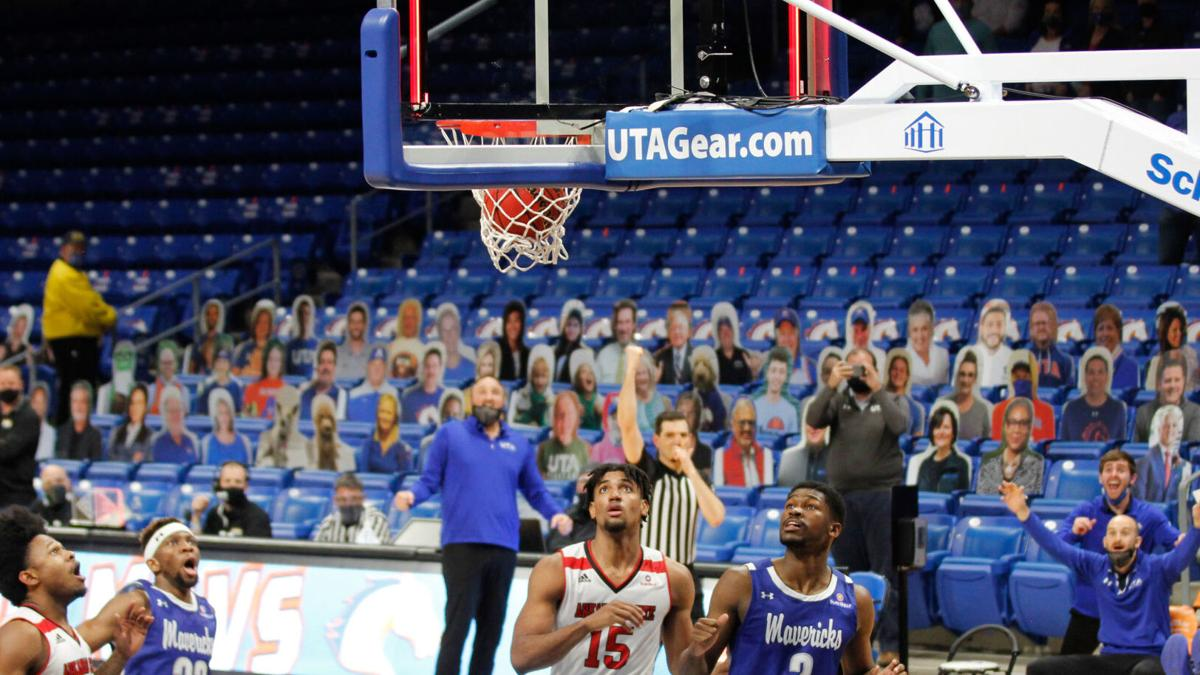 'They made plays. We just made the last one': Buzzer-beater lifts UTA men's basketball over Arkansas State