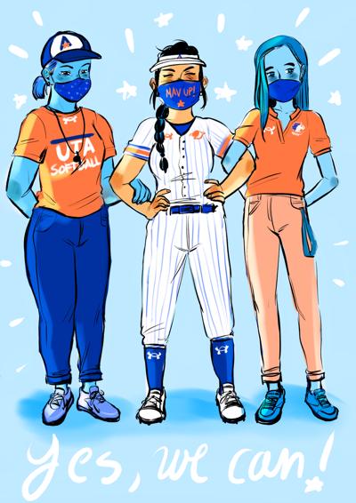 From players to coaches and staff, women help run the UTA softball program
