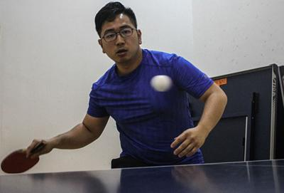 Table tennis players push for support following triumph