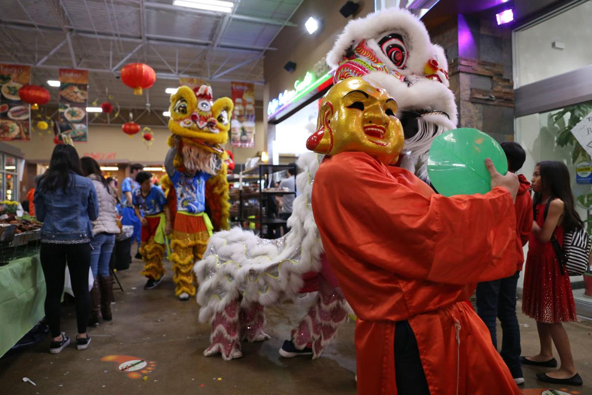 2019 Asia Times Square Lunar New Year Festival features dance troupes, street vendors