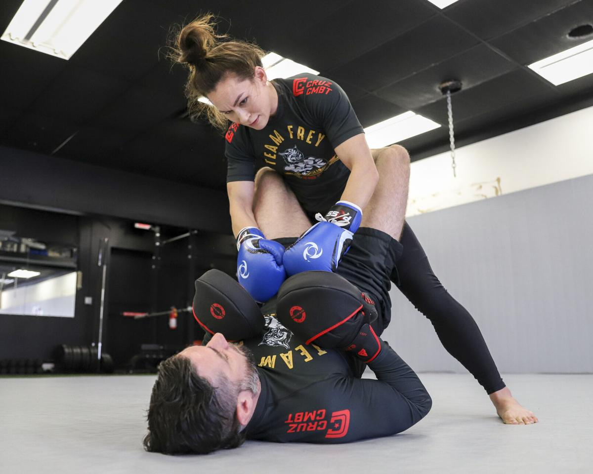 UTA alumna finds victory in the world's premier combat sports arena