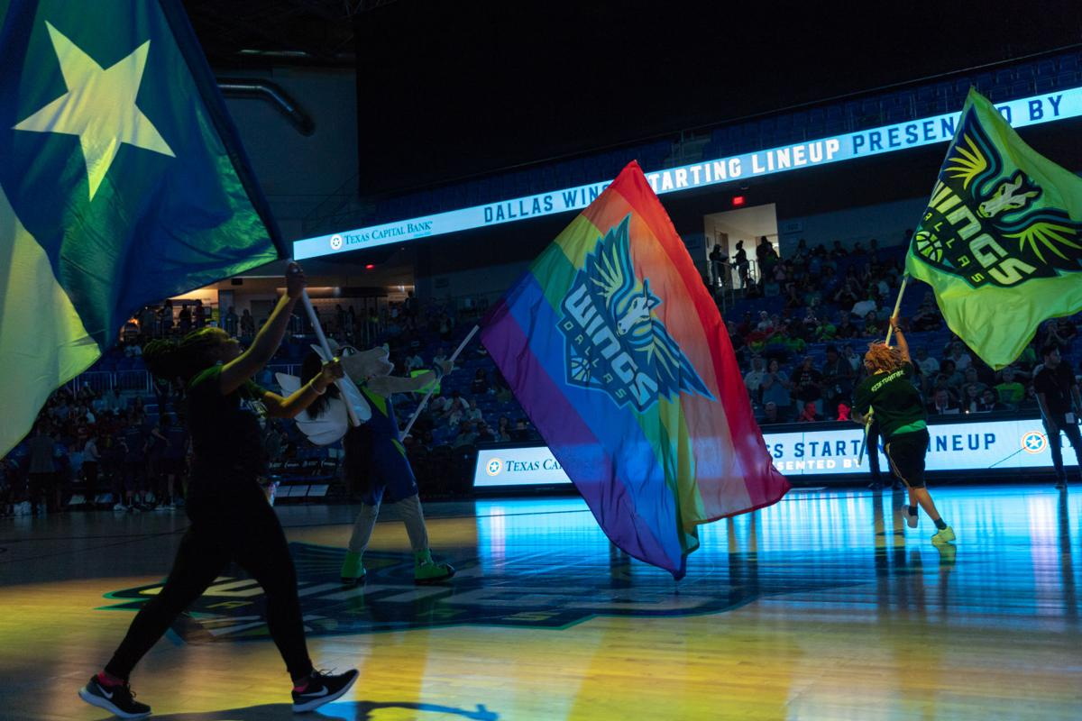 Photos: Dallas Wings notch second win during Pride Night