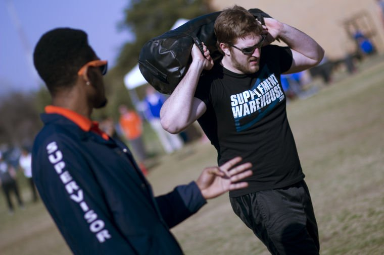 Students plow through first Mavstrong Competition